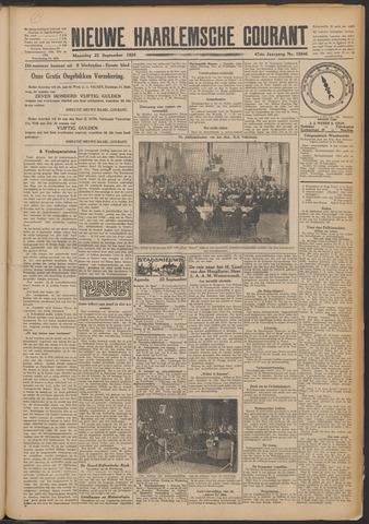 Nieuwe Haarlemsche Courant 1924-09-22
