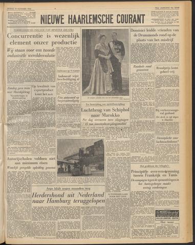 Nieuwe Haarlemsche Courant 1954-11-19