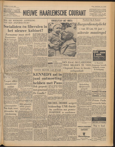 Nieuwe Haarlemsche Courant 1963-05-18