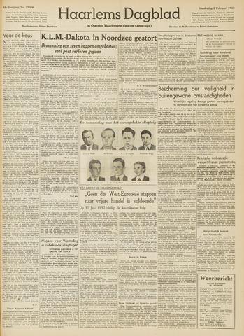 Haarlem's Dagblad 1950-02-02