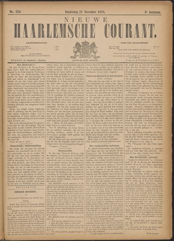 Nieuwe Haarlemsche Courant 1878-11-21