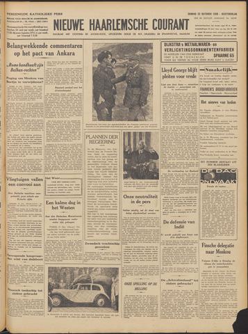 Nieuwe Haarlemsche Courant 1939-10-22