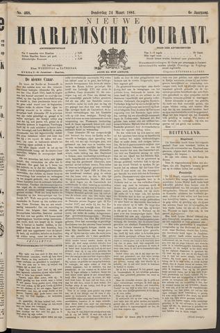 Nieuwe Haarlemsche Courant 1881-03-24