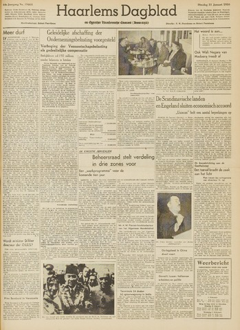 Haarlem's Dagblad 1950-01-31