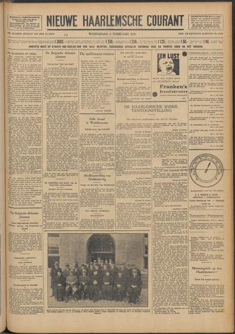 Nieuwe Haarlemsche Courant 1931-02-04
