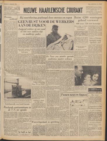Nieuwe Haarlemsche Courant 1953-02-13
