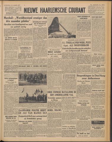Nieuwe Haarlemsche Courant 1951-03-28