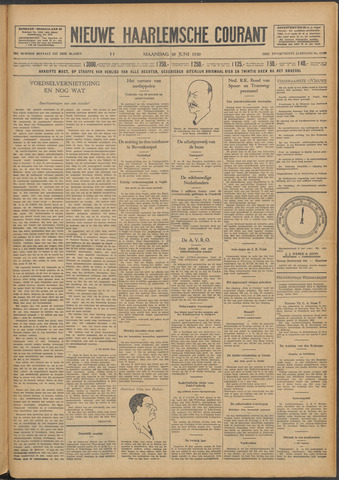 Nieuwe Haarlemsche Courant 1930-06-30