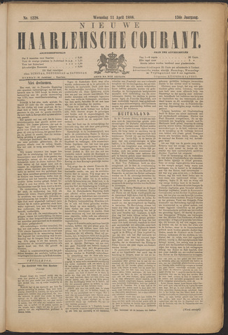 Nieuwe Haarlemsche Courant 1888-04-11