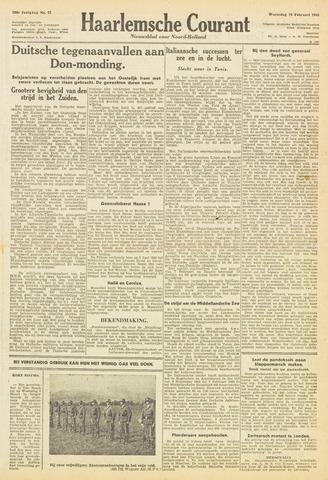 Haarlemsche Courant 1943-02-10