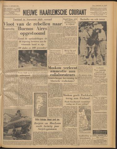 Nieuwe Haarlemsche Courant 1955-09-19