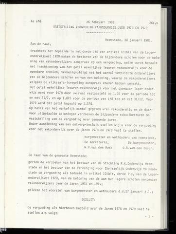Raadsnotulen Heemstede 1981-02-26