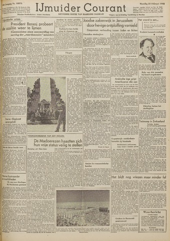 IJmuider Courant 1948-02-23