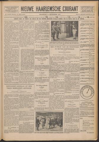 Nieuwe Haarlemsche Courant 1931-09-14