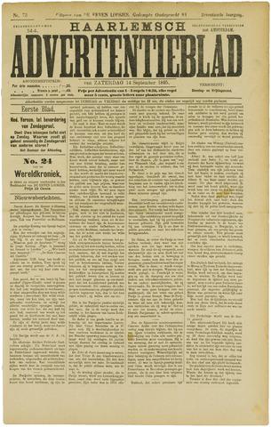 Haarlemsch Advertentieblad 1895-09-14
