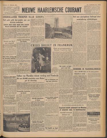 Nieuwe Haarlemsche Courant 1951-02-27