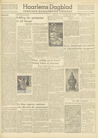 Haarlem's Dagblad 1951-02-24
