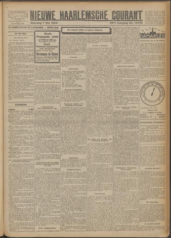 Nieuwe Haarlemsche Courant 1923-05-07