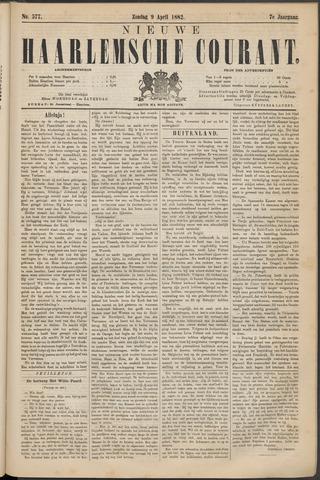 Nieuwe Haarlemsche Courant 1882-04-09