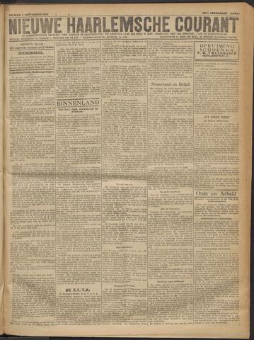 Nieuwe Haarlemsche Courant 1919-09-05