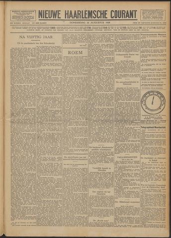 Nieuwe Haarlemsche Courant 1928-08-16