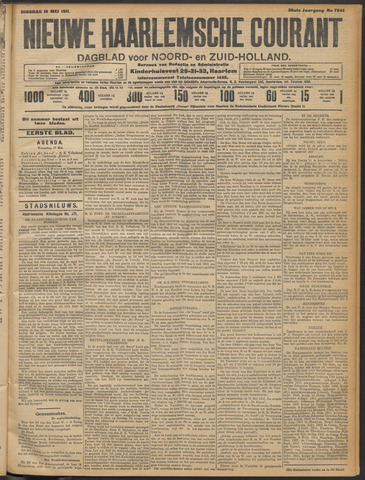 Nieuwe Haarlemsche Courant 1911-05-16