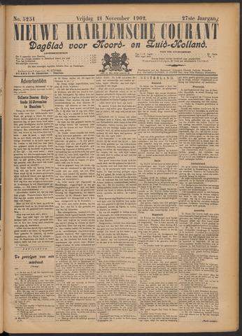Nieuwe Haarlemsche Courant 1902-11-21