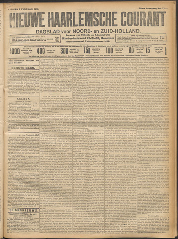 Nieuwe Haarlemsche Courant 1912-02-09