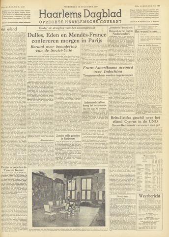 Haarlem's Dagblad 1954-12-15
