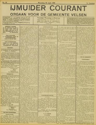 IJmuider Courant 1922-04-26