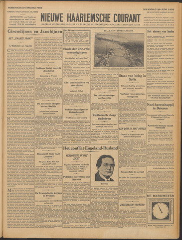 Nieuwe Haarlemsche Courant 1933-06-26