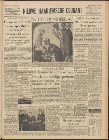 Nieuwe Haarlemsche Courant 1959-03-26