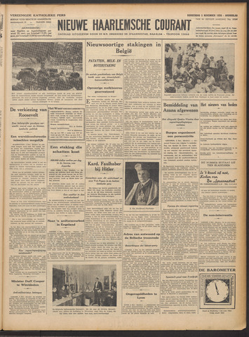 Nieuwe Haarlemsche Courant 1936-11-05