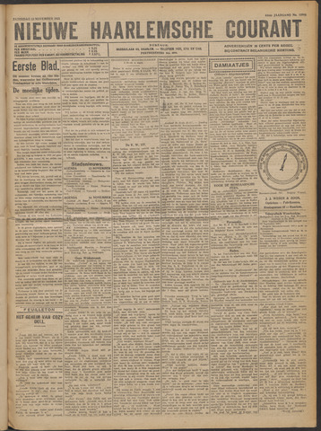 Nieuwe Haarlemsche Courant 1921-11-12