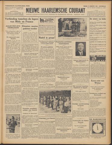 Nieuwe Haarlemsche Courant 1936-08-14