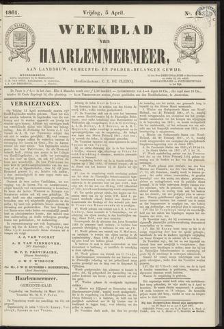 Weekblad van Haarlemmermeer 1861-04-05