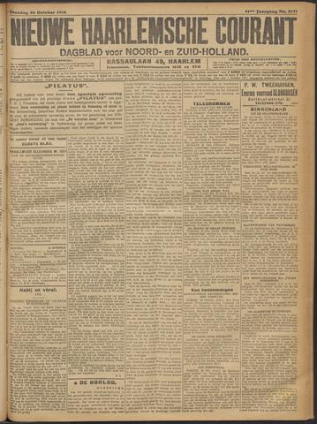 Nieuwe Haarlemsche Courant 1916-10-24