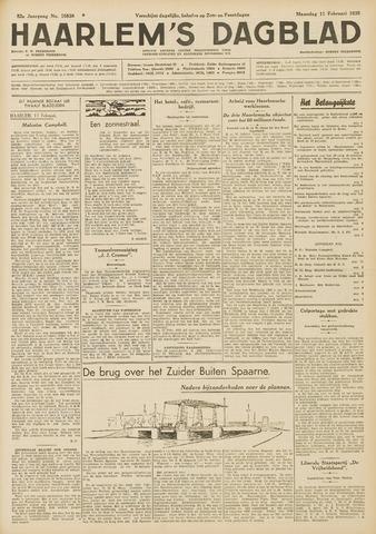 Haarlem's Dagblad 1935-02-11