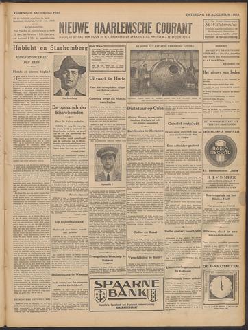 Nieuwe Haarlemsche Courant 1933-08-12