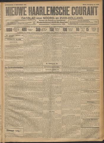 Nieuwe Haarlemsche Courant 1911-11-09