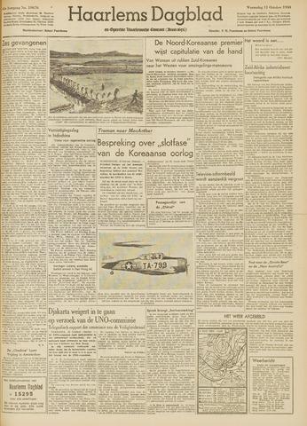 Haarlem's Dagblad 1950-10-11