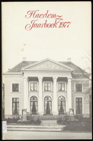 Jaarverslagen en Jaarboeken Vereniging Haerlem 1977