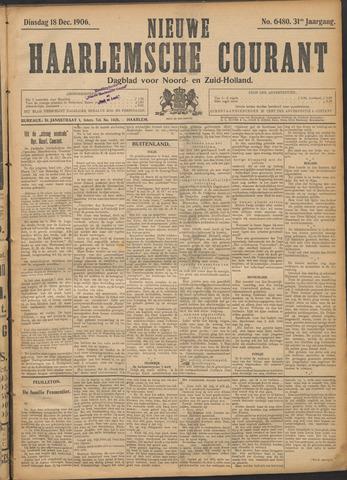 Nieuwe Haarlemsche Courant 1906-12-18