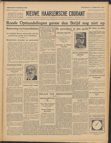 Nieuwe Haarlemsche Courant 1934-02-14