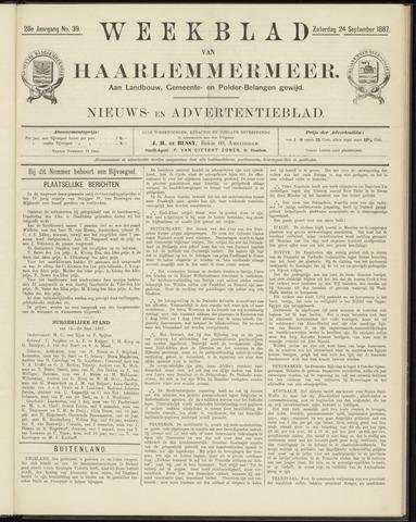 Weekblad van Haarlemmermeer 1887-09-24