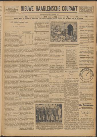 Nieuwe Haarlemsche Courant 1931-11-03
