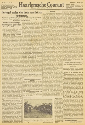 Haarlemsche Courant 1943-10-14