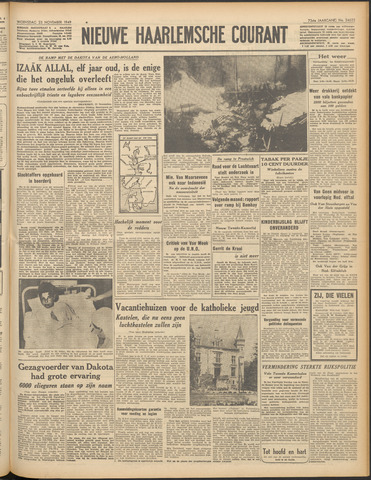 Nieuwe Haarlemsche Courant 1949-11-23