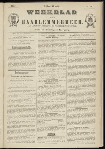 Weekblad van Haarlemmermeer 1881-07-29