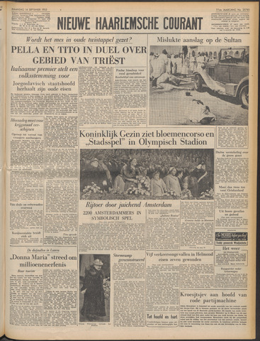 Nieuwe Haarlemsche Courant 1953-09-14